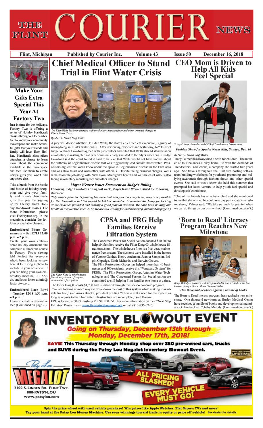 The Flint Courier, Dec  16 Edition by The Flint Courier - issuu