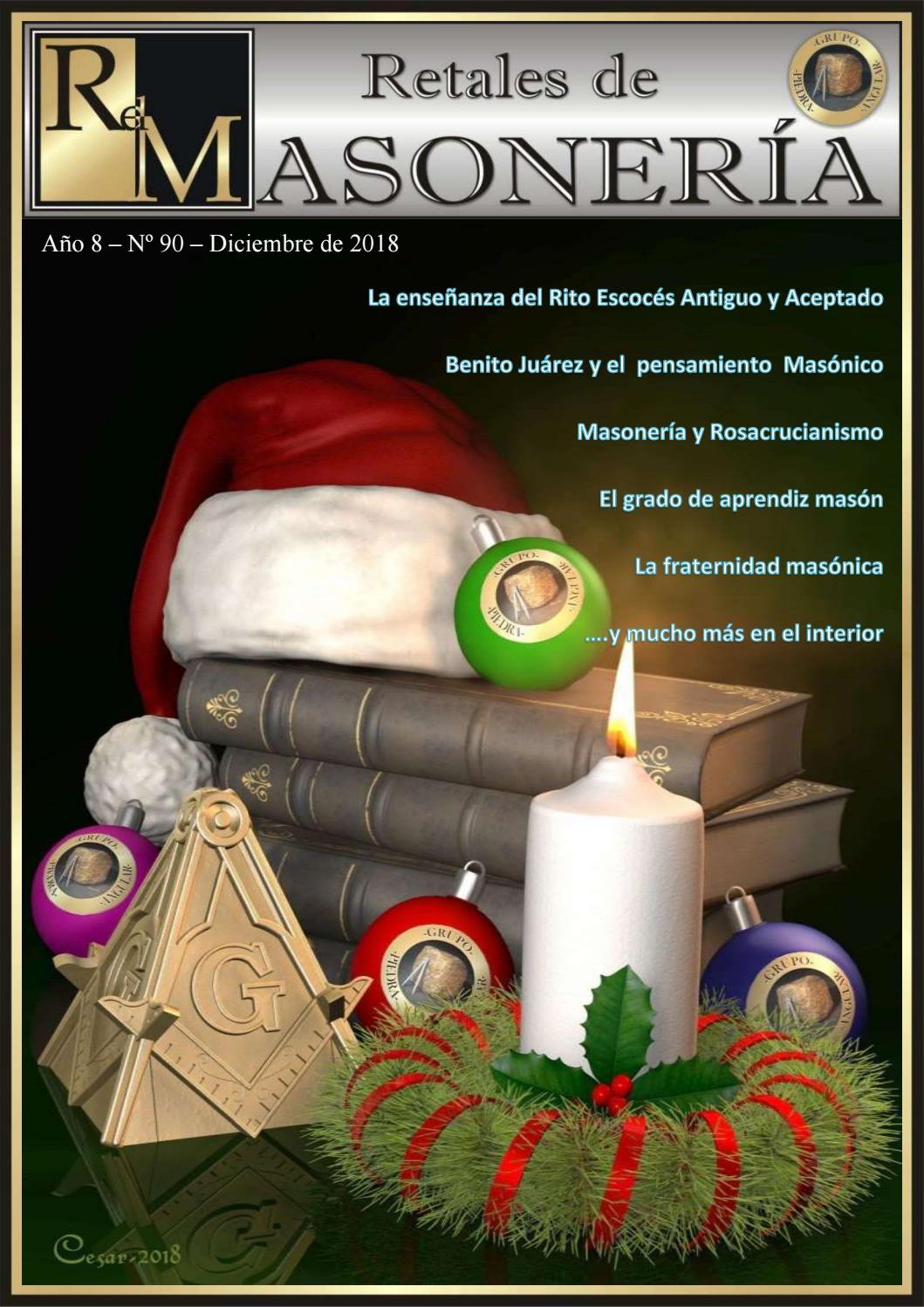 Retales Masoneria Numero 090 Diciembre 2018 By Grupo