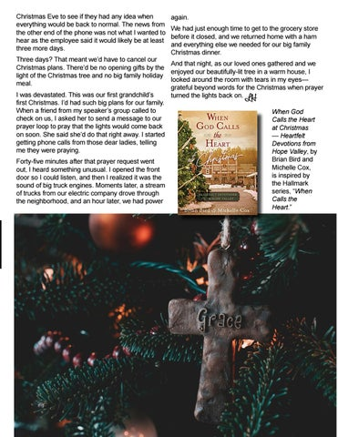 Page 43 of When God Calls the Heart at Christmas: Lights for Christmas by Heartie Michelle S. Cox