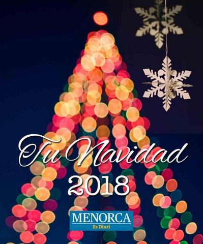 Tu Navidad En Menorca 2018 By Menorcainfo Issuu