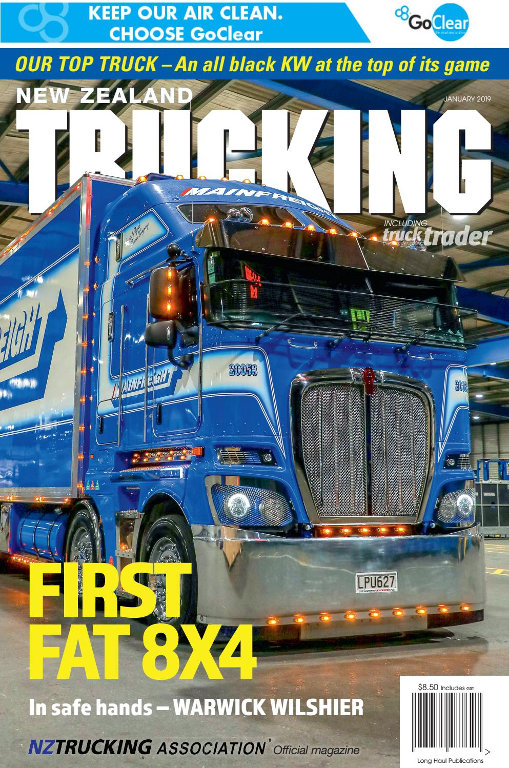 New Zealand Trucking January 2019 by NZTrucking - issuu