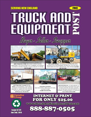 Truck And Equipment Post - issue 52-01, 2019 by 1ClickAway