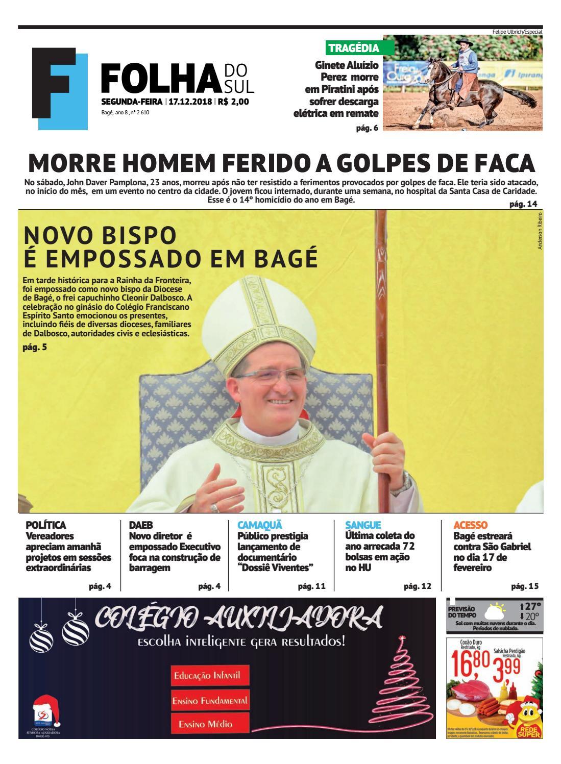 aaab1258fbf Jornal Folha do Sul