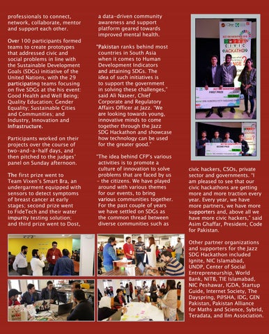 Page 9 of JAZZ SDG Hakathon in Partnership with Code for Pakistan