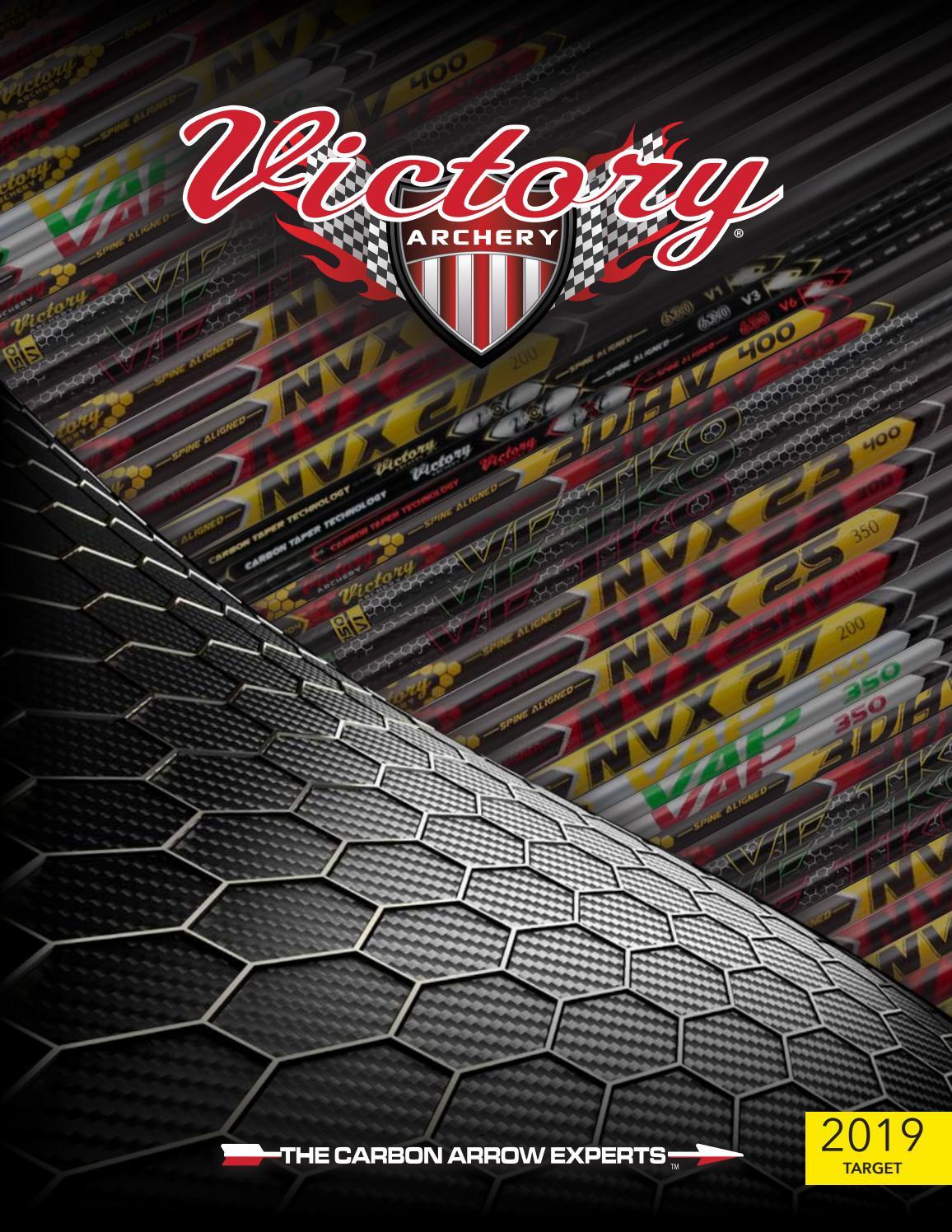 Victory Archery VForce Sport Shafts Black 300 Pack of 12