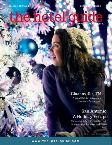 The Hotel Guide - Holiday Edition 2018 by The Hotel Guide