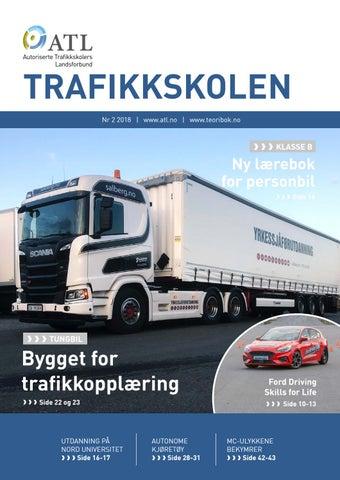 096cbf74 Trafikkskolen 2 2018 by Autoriserte Trafikkskolers Landsforbund (ATL ...