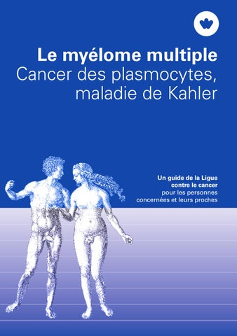 Le myélome multiple by Krebsliga Schweiz - issuu