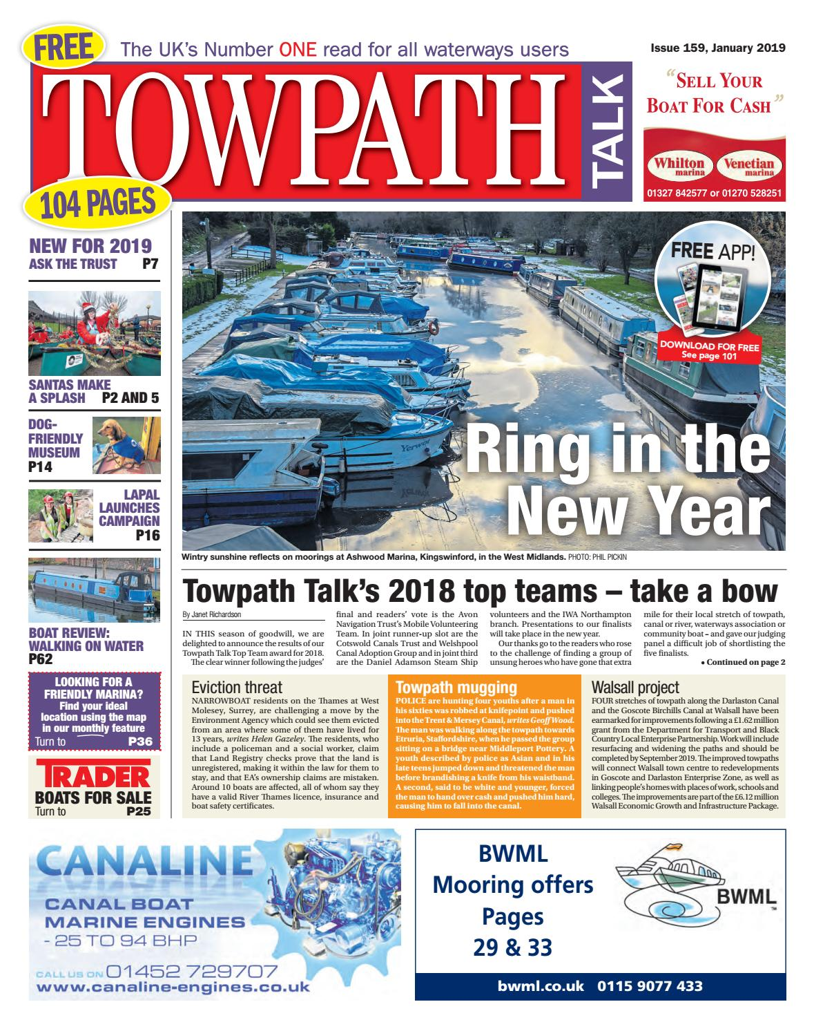 Towpath Talk - January 2019 - Preview by Mortons Media Group Ltd - issuu 1f0994807