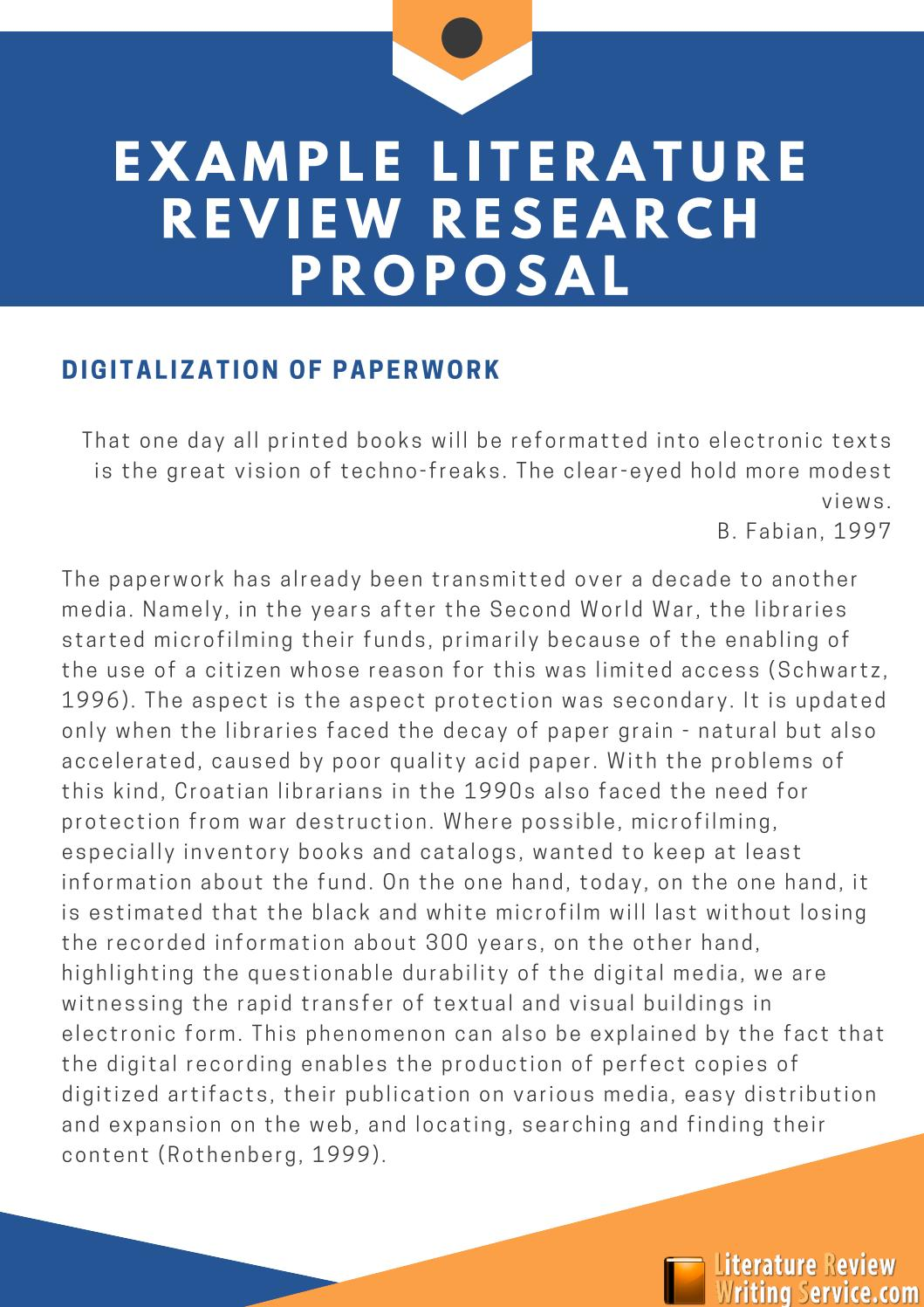 Review of related literature in research proposal compare contrast essay point view