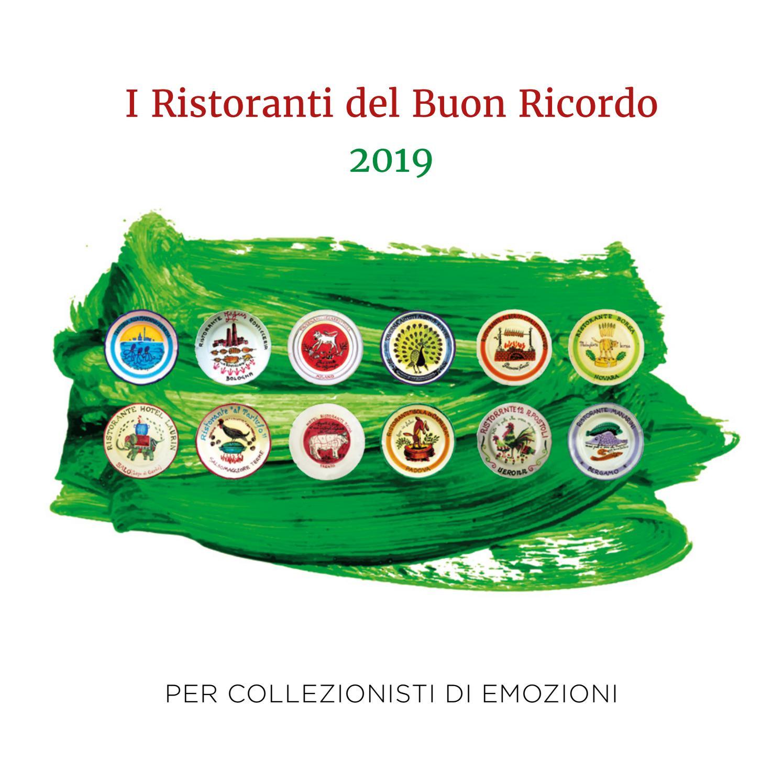 Guida Ristoranti Del Buon Ricordo 2019 By Unione Ristoranti