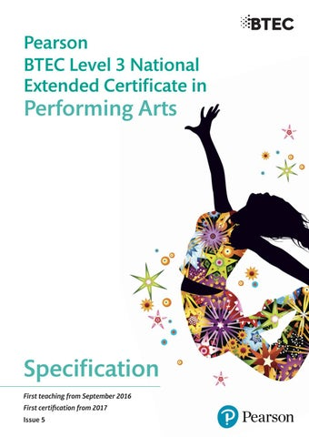 4745d6c115 BTEC Level 3 Dance Extended Specification by Ullswater Community ...