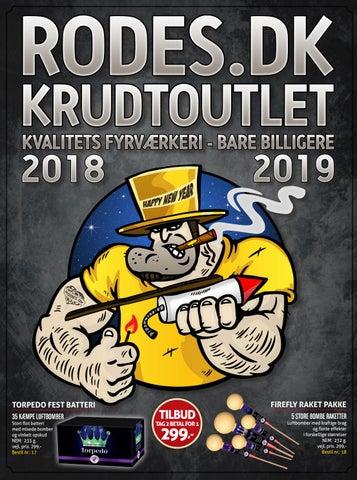Massivt Rodes.dk Fyrværkeri Outlet 2018-2019 by Rodes.dk - issuu UT38
