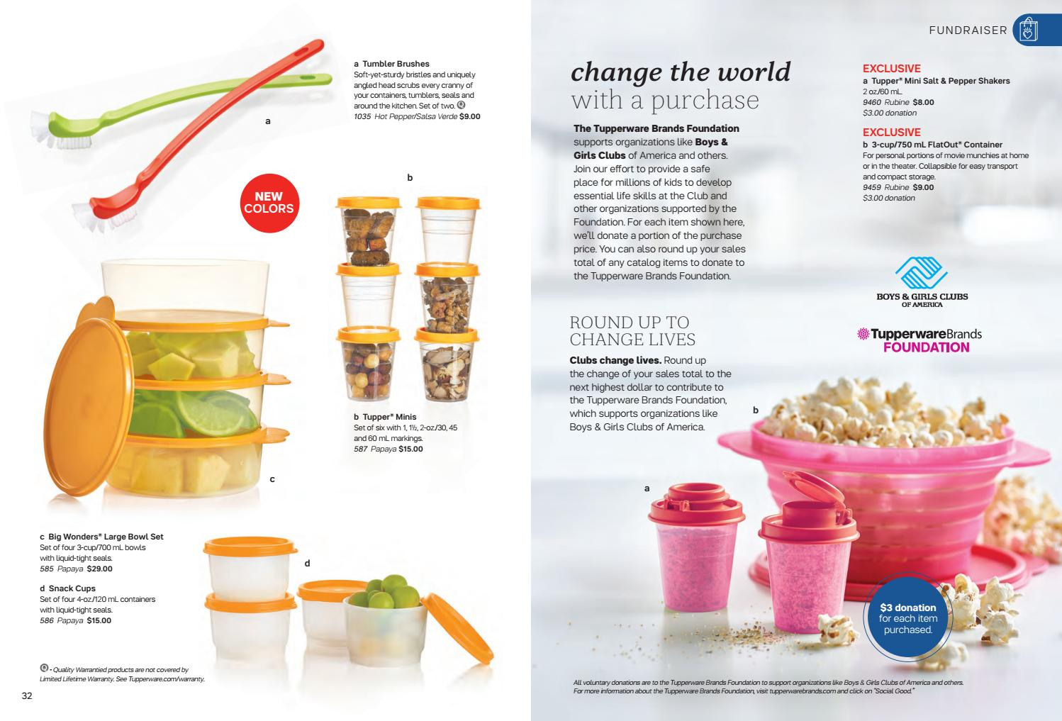 Tupperware Winter Spring 2019 Catalog By Kasandrameadows Issuu