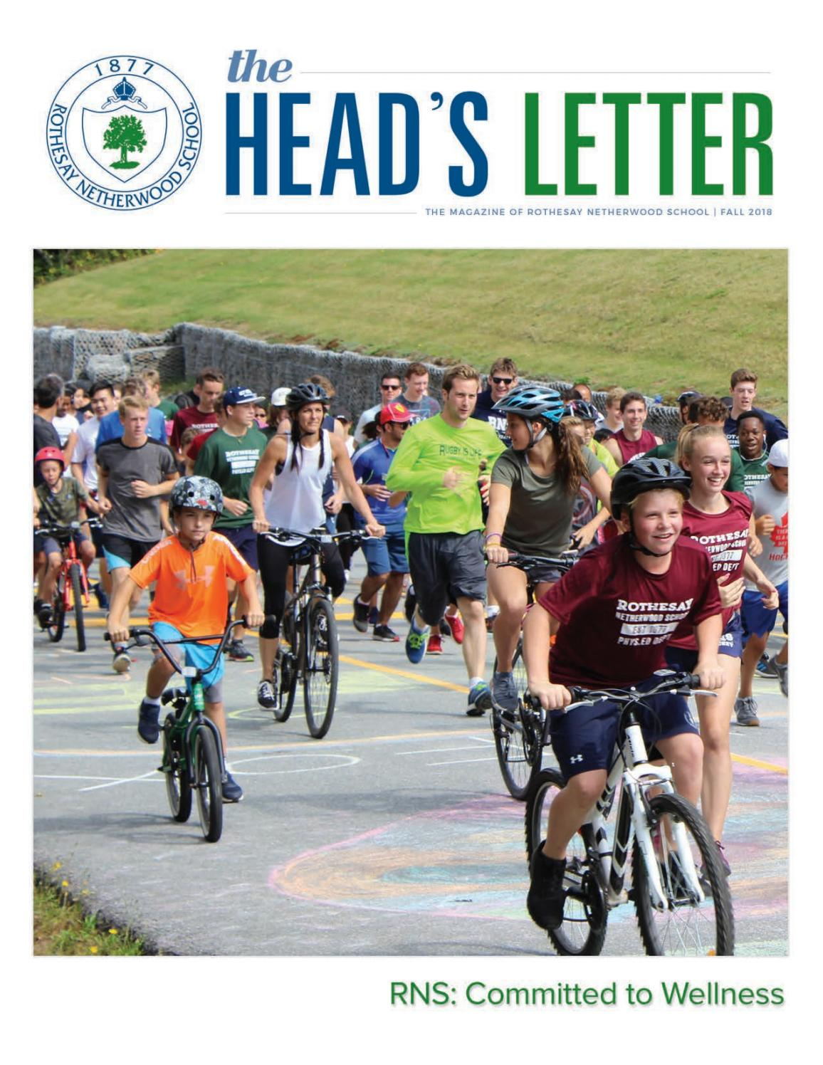 The Head s Letter - RNS  Committed to Wellness by Rothesay Netherwood School  - issuu ae39991fa