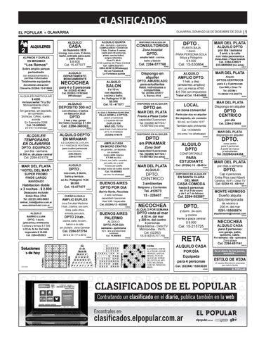 Clasificados del día 16 12 2018 by diarioelpopular - issuu 1f276511463