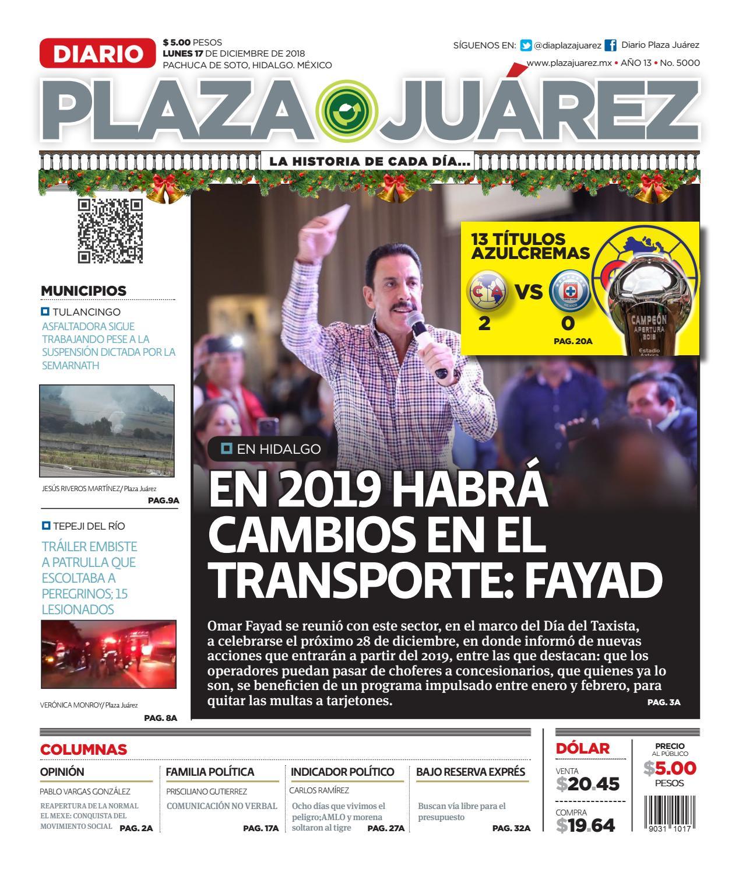 17-12-18 by Diario Plaza Juárez - issuu dadcc6cdebe
