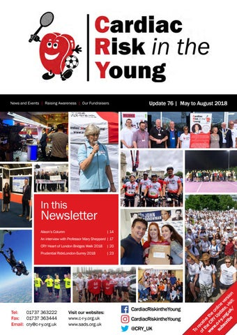 b014b9ed4f2 CRY Update Magazine - Issue 76 by Cardiac Risk in the Young - issuu