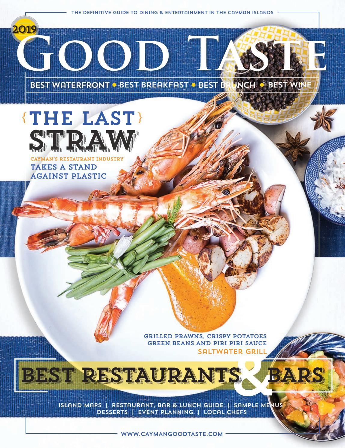 94f9e98e3bf Cayman Good Taste 2019 by Acorn Publishing Co. Ltd. - issuu