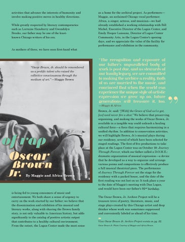 Page 35 of Our Dad, the Grand Pop of Rap: Oscar Brown, Jr.