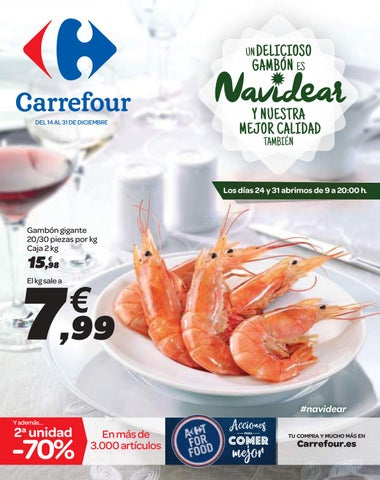 1f4c5d991 Catálogo Carrefour un delicioso gambon es navidear by Ofertas ...
