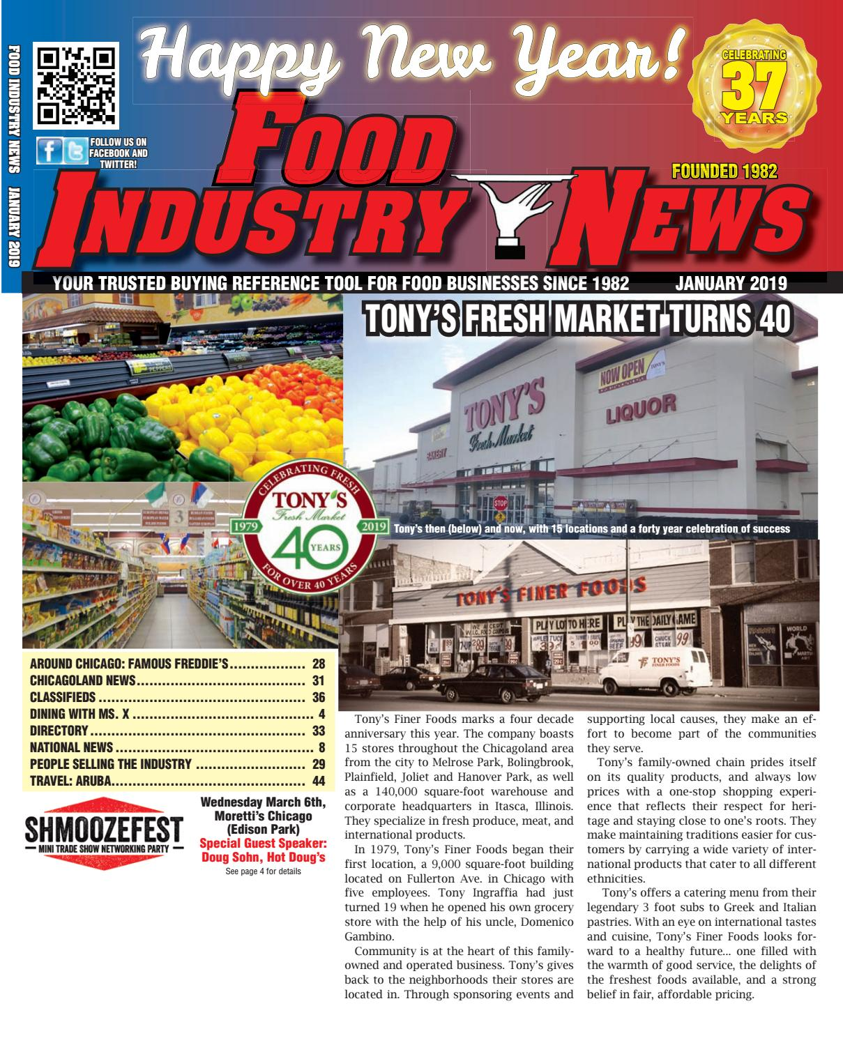 Food Industry News January 2019 WEB EDITION by