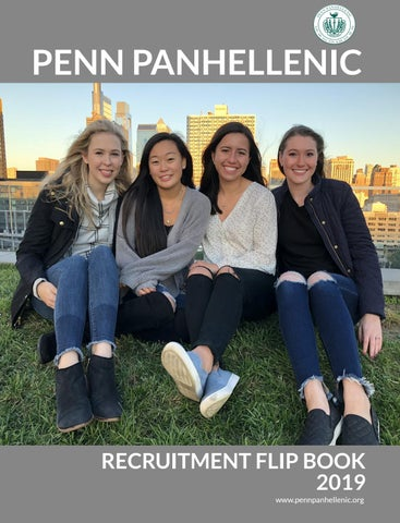 UPenn Panhellenic Flip Book 2019 By UPenn Office Of