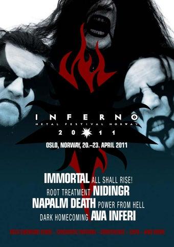 Inferno Magazine 2011 by Inferno Metal Festival - issuu