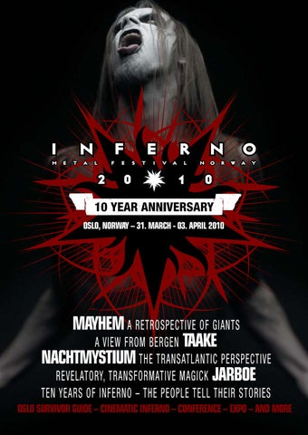 4662eeb82b Inferno Magazine 2010 by Inferno Metal Festival - issuu