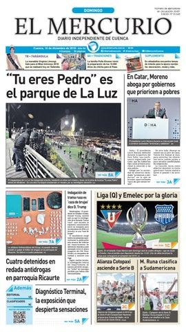 7cee74331e88 Hemeroteca-16-12-2018 by Diario El Mercurio Cuenca - issuu