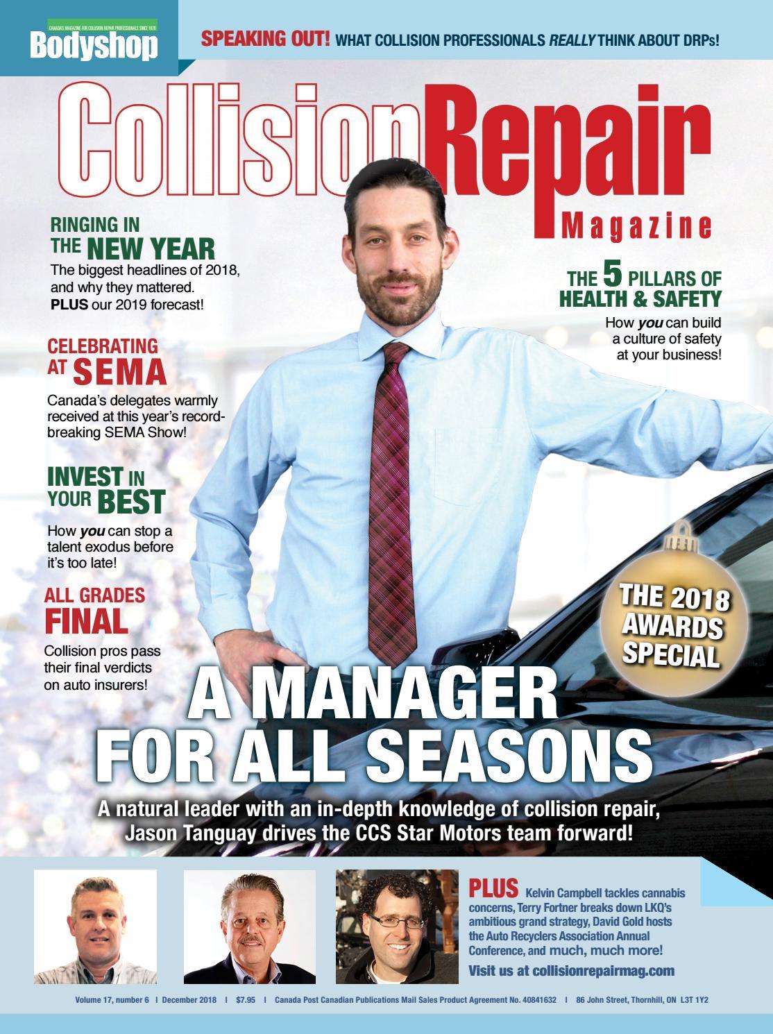 Collision Repair Magazine 17#6 by Media Matters - issuu