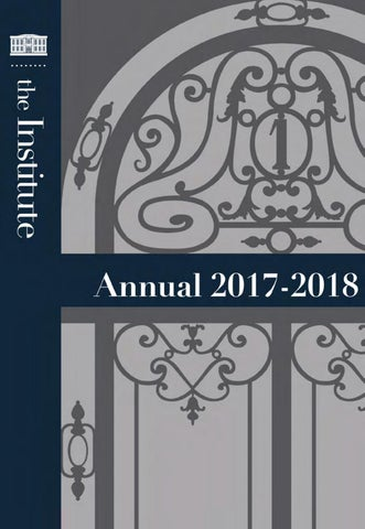 The Institute of Fine Arts Annual 2017-2018 by The Institute of Fine