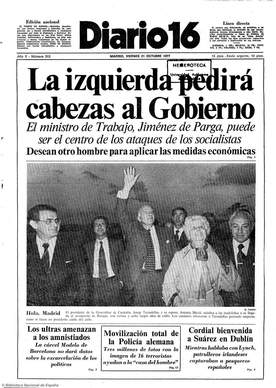 c7f2523e889e Diario 16. 21-10-1977 by diario16deburgos - issuu