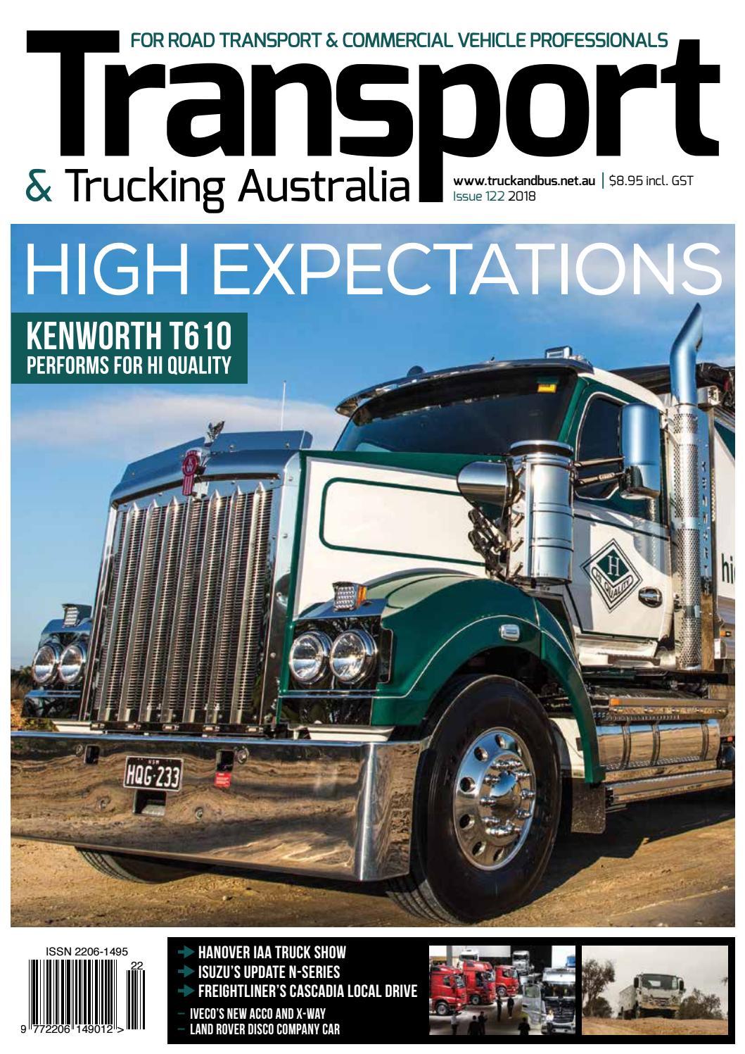 Transport & Trucking Australia Issue 122 by Transport