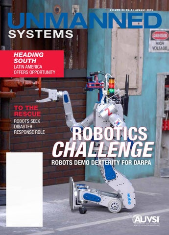 Unmanned Systems magazine: August 2015 by AUVSI Unmanned Systems