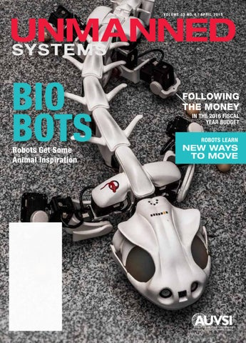 Unmanned Systems magazine: April 2015 by AUVSI Unmanned Systems