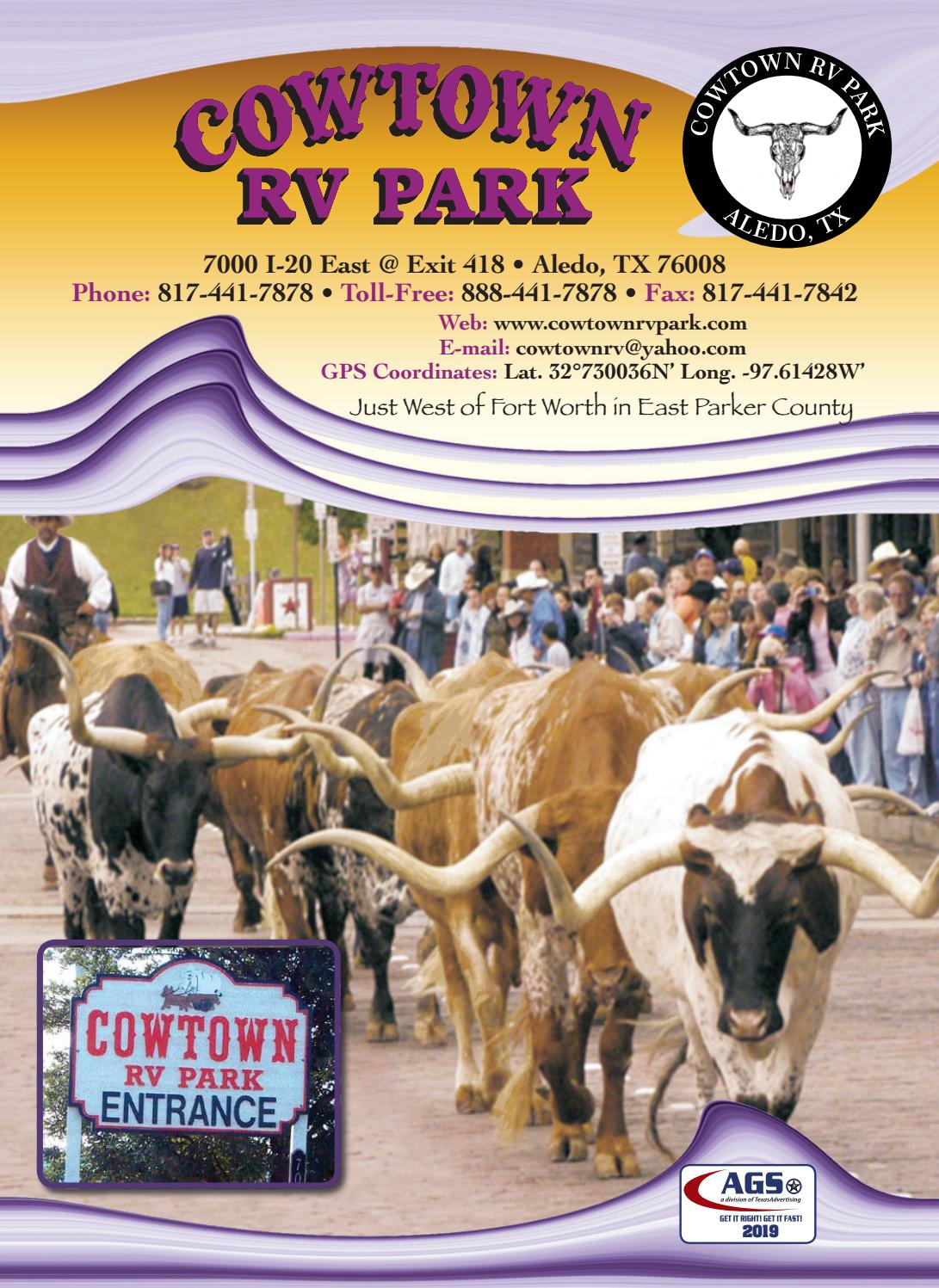 Cowtown Rv Park By Ags Texas Advertising Issuu