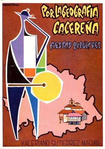 2a4236ddd29 Por la geografía cacereña. Fiestas Populares por Valeriano Gutiérrez ...