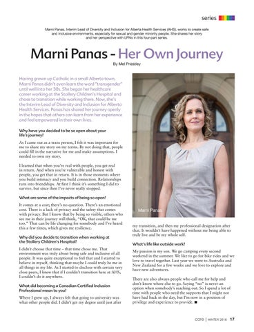 Page 17 of Marni Panas - Her Own Journey