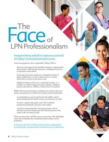 Page 8 of The Face of LPN Professionalism