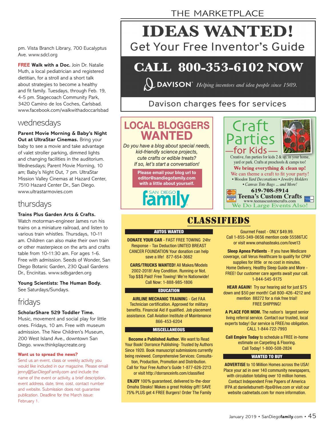 San Diego Family January Health & Wellness Issue by San Diego Family