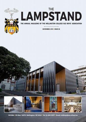 The WCOBA Lampstand by Wellington College - issuu 5319d4d8e516