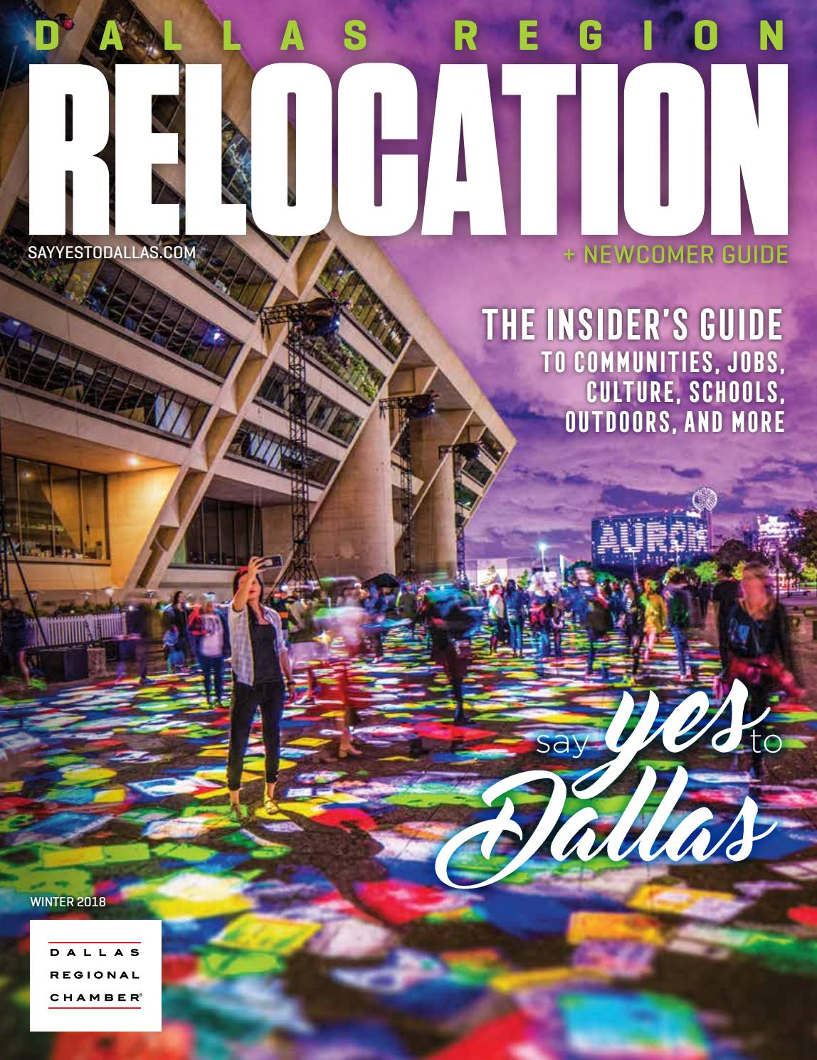 c22a5fe40600a Dallas Region Relocation + Newcomer Guide - Winter 2018 by Dallas Regional  Chamber Publications - issuu