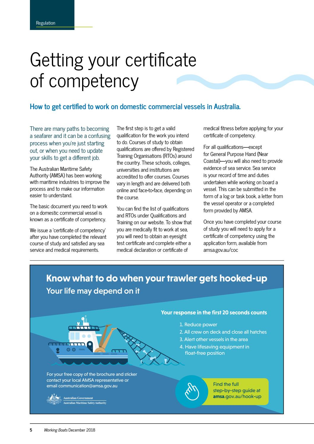 Working Boats issue 14 by Australian Maritime Safety