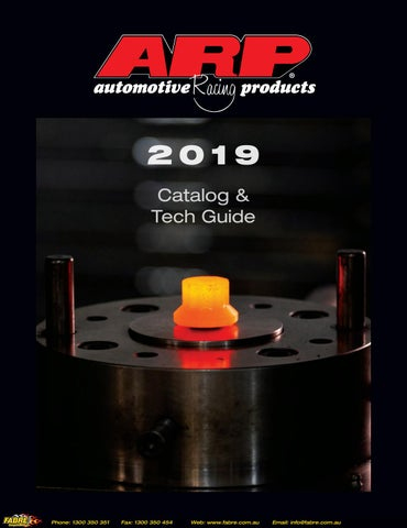 2019 ARP Catalog & Tech Guide by Fabre Australia - issuu