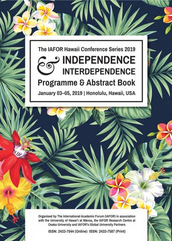 IICEHawaii 2019 | IICSEEHawaii 2019 - Programme & Abstract