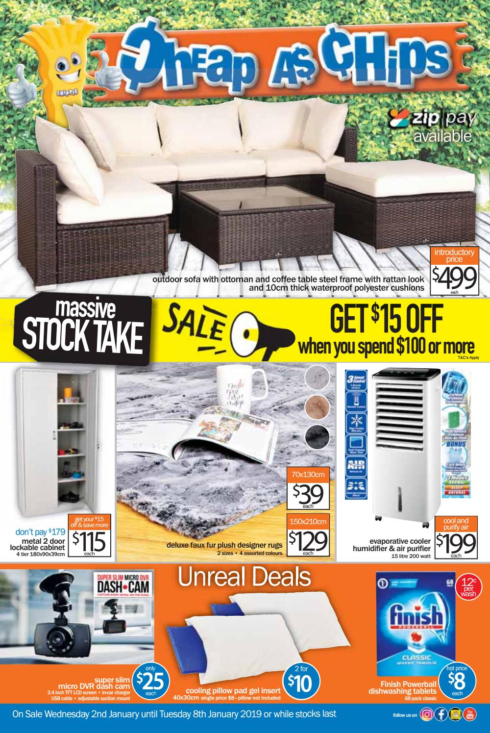 January 2nd 8 Page Catalogue 2019 By Cheap As Chips Issuu