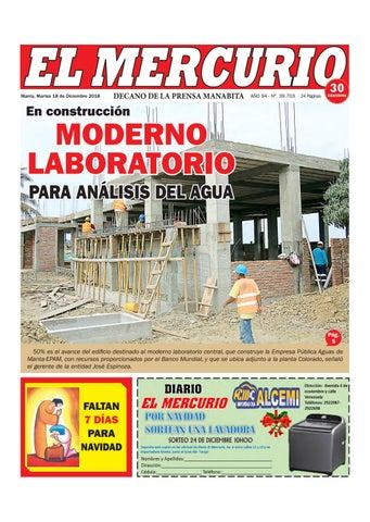 7505cee72f82 MARTES 18 DE DICIEMBRE DE 2018 by Diario El mercurio - issuu