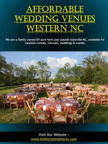 Affordable Wedding Venues Western Nc Call 828 393 3034