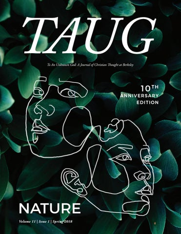 TAUG: Nature, Spring 2018 by TAUG - issuu